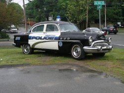 Antique Police Car