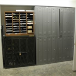 All Lockers and Shelves